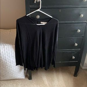 Lightweight black sweater